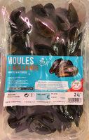 Moules de Hollande vivantes & nettoyées - Produit