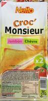 Croc' Monsieur Jambon Chèvre - Product - fr