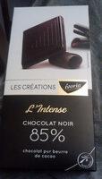 Chocolat Noir Dégustation 85% de Cacao - Produto