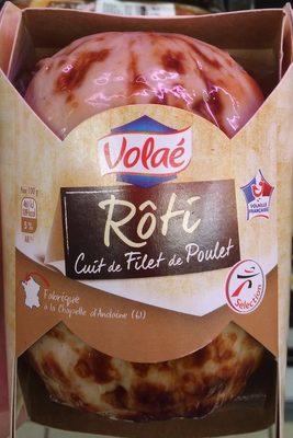Rôti de filet de poulet cuit Nature - Produit - fr