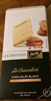 Chocolat blanc eclats de speculoos - Produit - fr