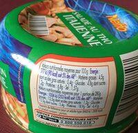 Salade au thon italienne - Ingredients - fr