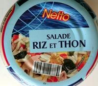Salade Riz et Thon - Product - fr