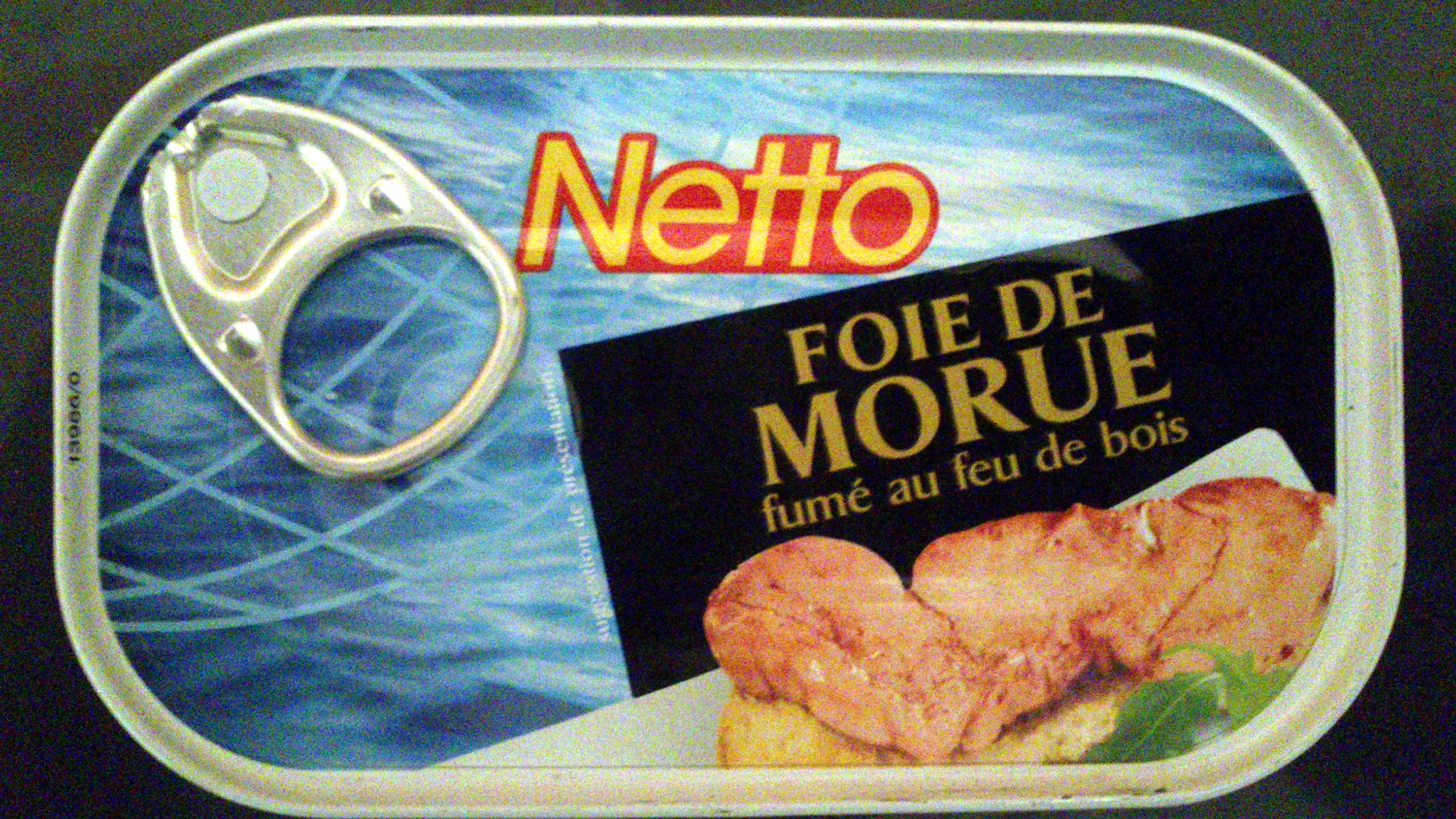 Foie de Morue - Netto - Product