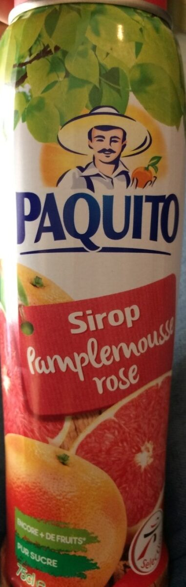 Sirop de Pamplemousse Rose - Product