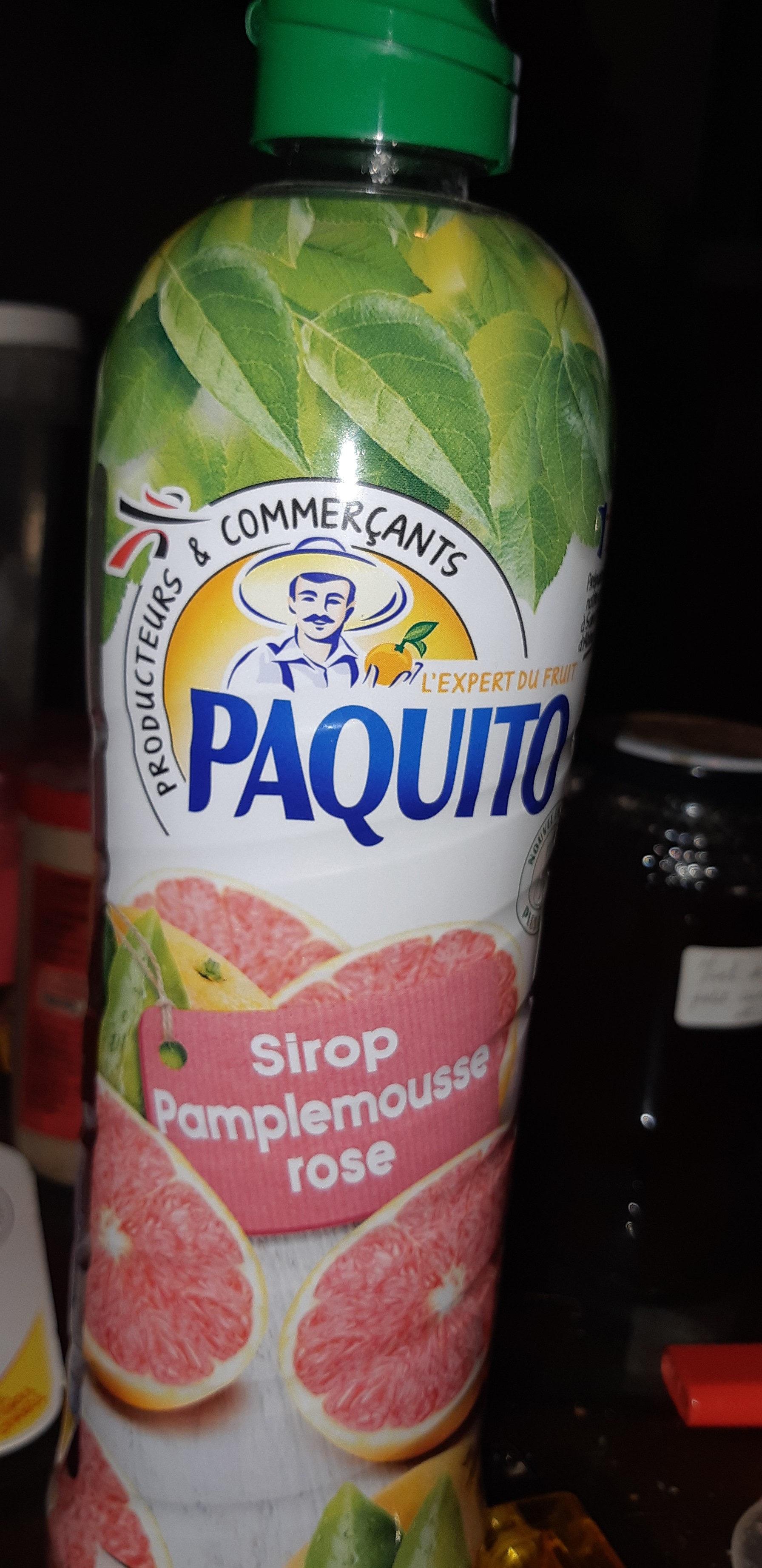 Sirop de Pamplemousse Rose - Nutrition facts
