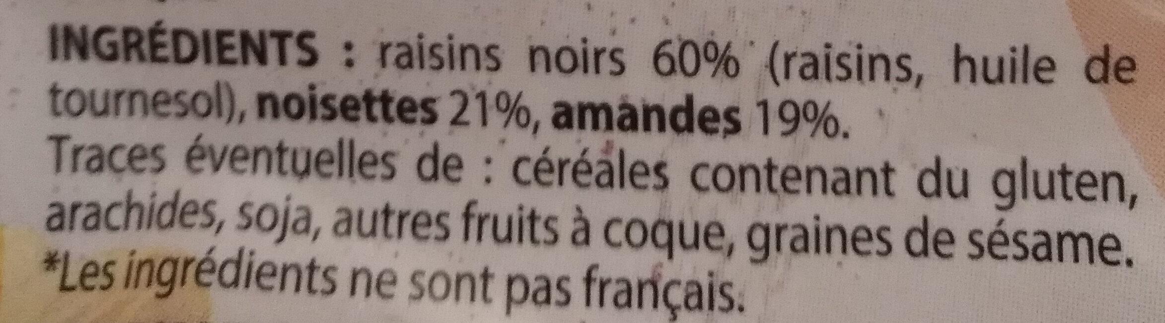 Mélange croquant - Ingrédients - fr