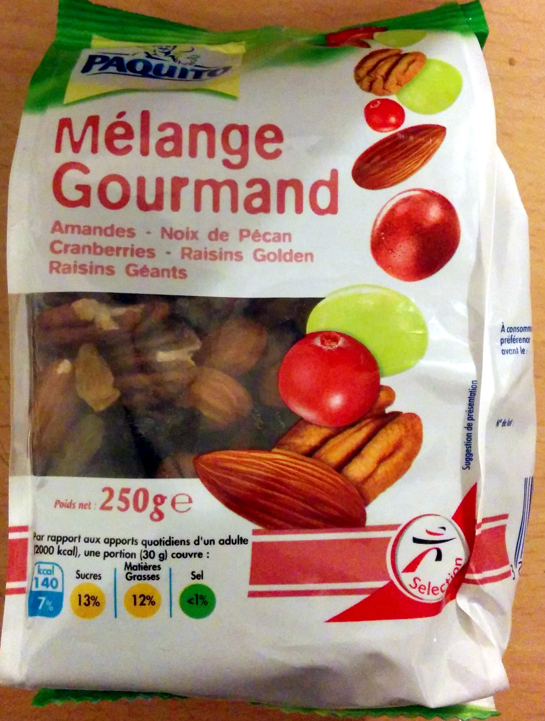 Melange gourmand - Produit