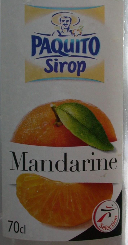 Sirop de mandarine - Produit