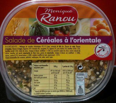Salade de Céréales à l'orientale - Product - fr
