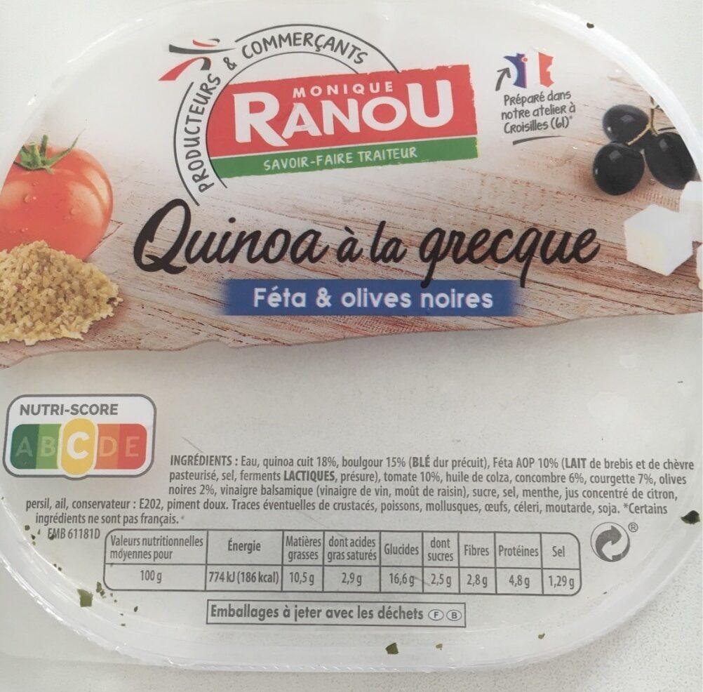 Salade de Quinoa à la grecque - Product - fr