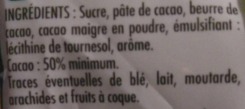 Pépites de Chocolat - Ingrédients - fr