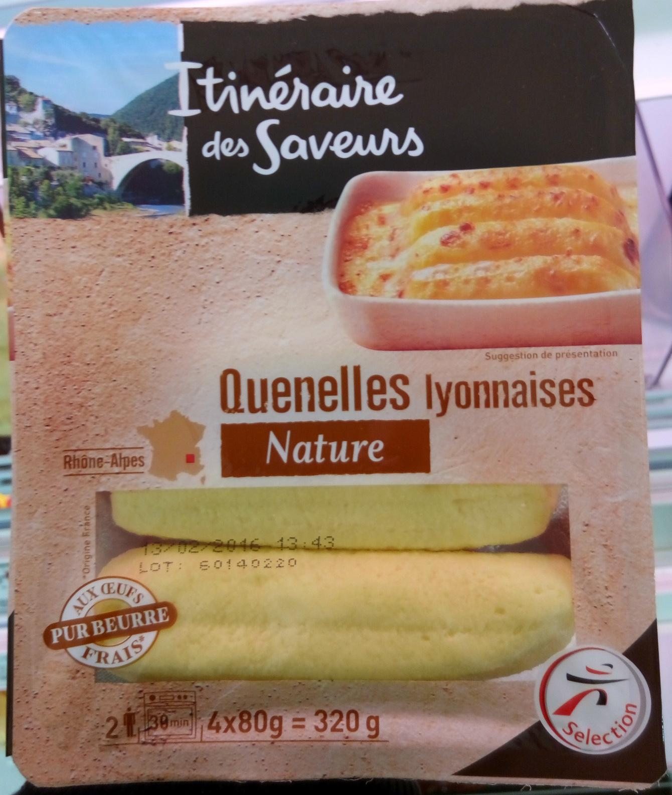 Quenelles lyonnaises nature itin raire des saveurs 320 g - Comment cuisiner des quenelles nature ...