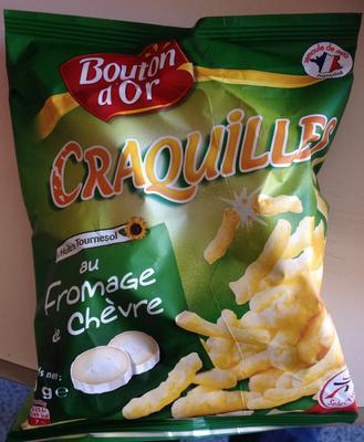 Craquilles saveur fromage de chèvre - Produit