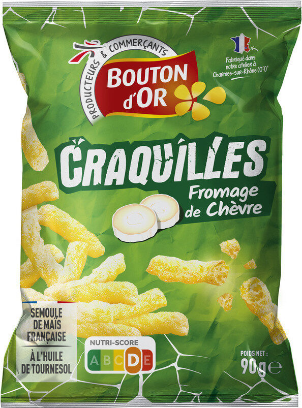 Craquilles saveur fromage de chèvre - Produit - fr