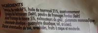 Craquilles saveur fromage de chèvre - Ingrédients