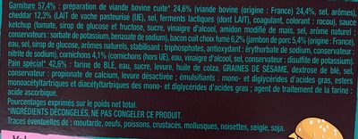 Le Maxi Bacon Burger - Ingrédients - fr