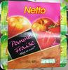 Pomme Fraise allégée en sucres - Produit