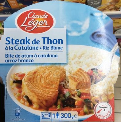 Steak de Thon à la Catalane Riz Blanc - Produit - fr