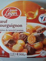 Bœuf Bourguignon, Pommes de Terre et Carottes - Produit