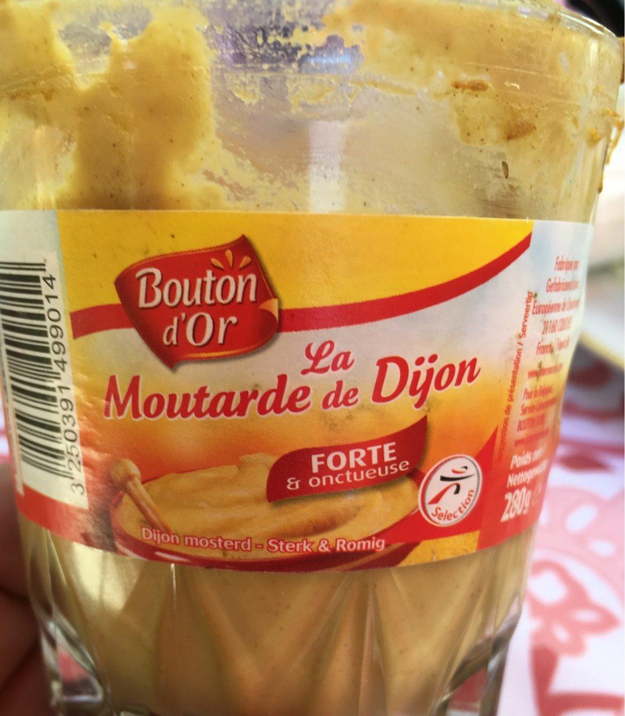 La Moutarde de Dijon, forte et onctueuse - Produit - fr