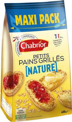 Petits pains grillés nature - Produit - fr