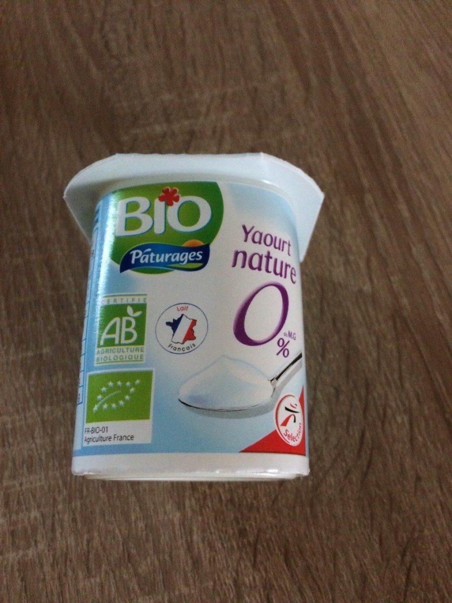 Yaourt 0% BIO pâturages - Produit - fr