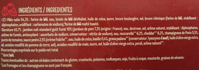 Maxi Moelleuse Royale - Ingrediënten - fr