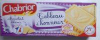 Tableau d'honneur Chocolat Blanc - Produit - fr