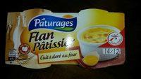 Flan Pâtissier - Cuit & doré au four - Product - fr
