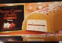 Bûche glacée façon crème brûlée - Product