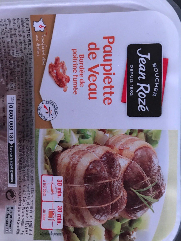Paupiettes de veau - Produit