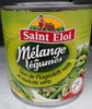 Mélange de légumes duo de flageolets verts et haricots verts - Produit