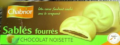 Sablés fourrés noisette - Product