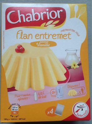 Préparation pour flan parfum vanille - Product
