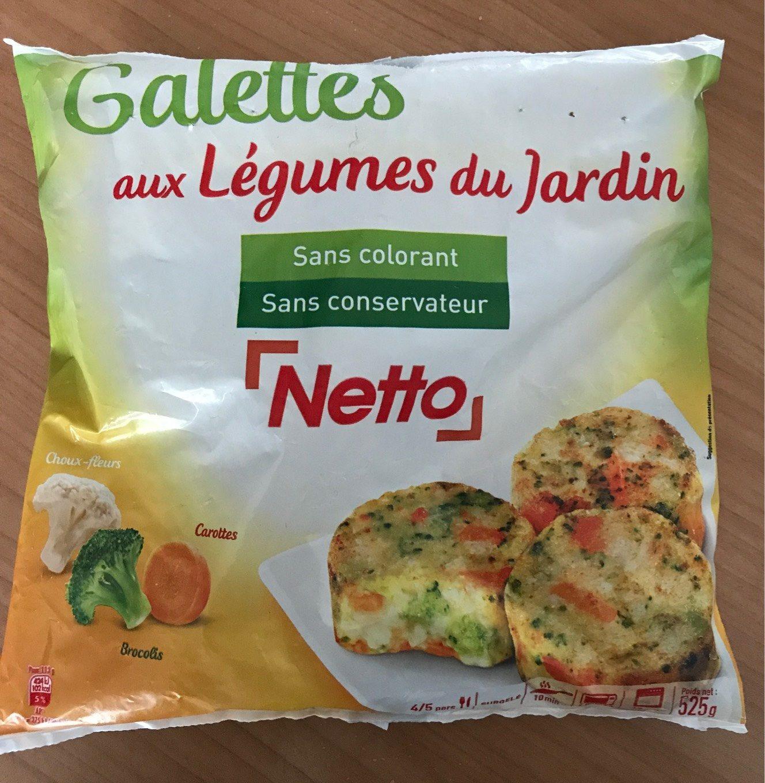Galettes aux Légumes - Produit - fr