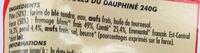 Ravioles du Dauphiné - Ingrediënten - fr