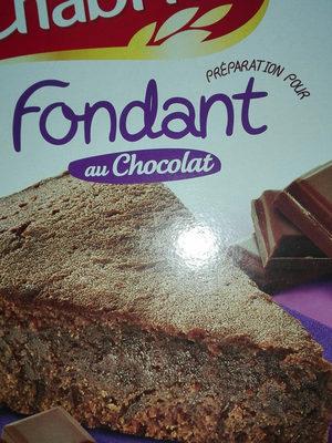 Préparation pour Fondant au chocolat - Product
