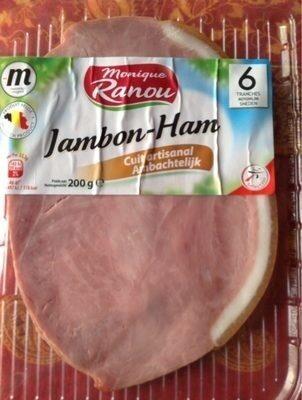 Jambon cuit artisanal - Product - fr