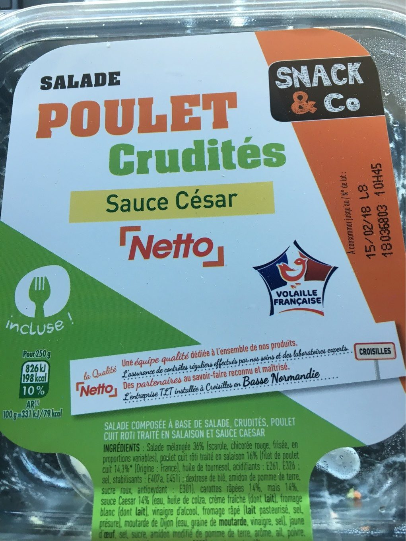 Salade Poulet Crudit?s - Product