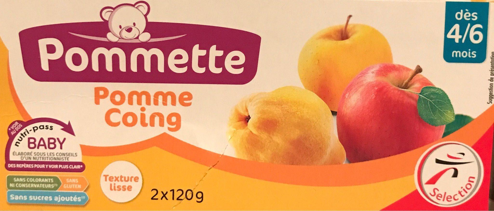 Purée pomme coing, dès 4/6 mois - Produit