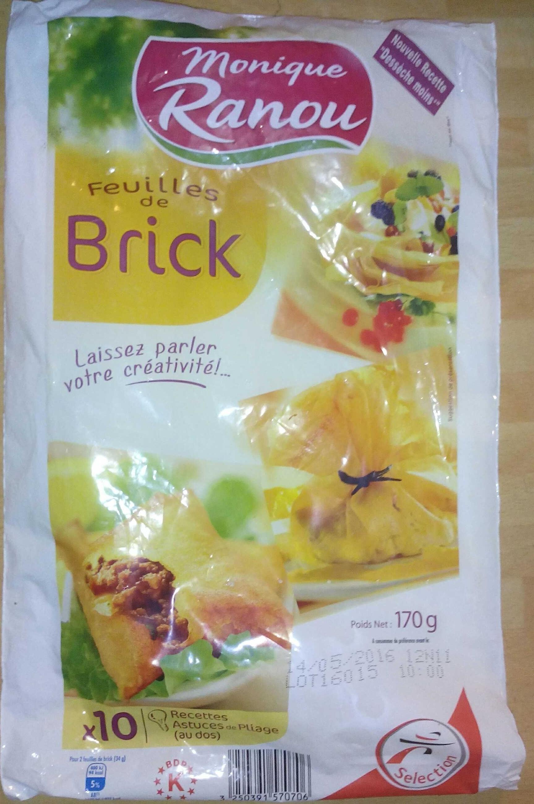 Feuilles de Brick - Product - fr