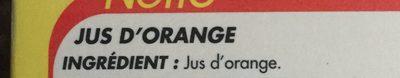 Jus d'orange 100% pur jus 2L - Ingrediënten - fr