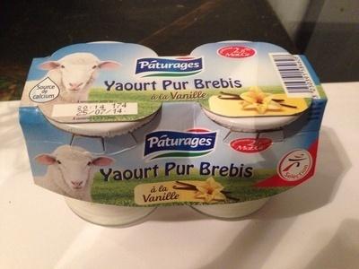 Yaourt pur brebis à la vanille - Product - en
