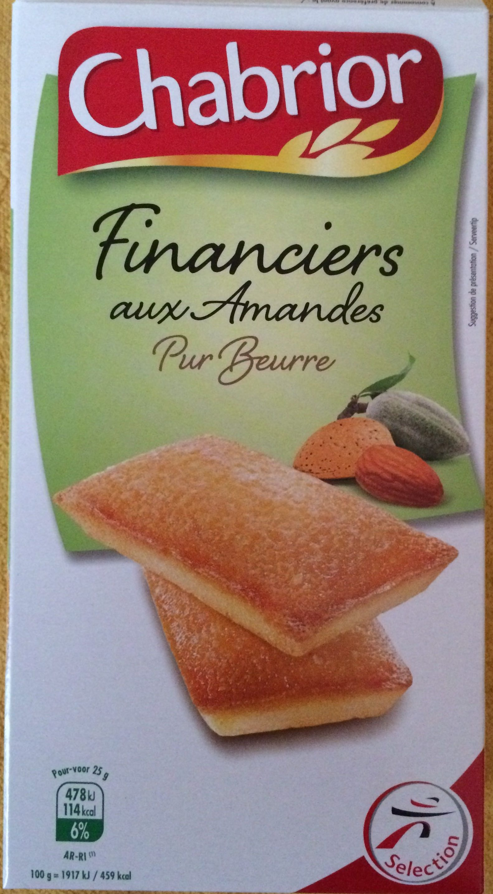 Financiers aux Amandes - Product