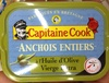 Anchois entiers à l'huile d'olive vierge extra - Produit