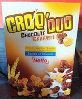 Céréales soufflées caramel & chocolat - Produit