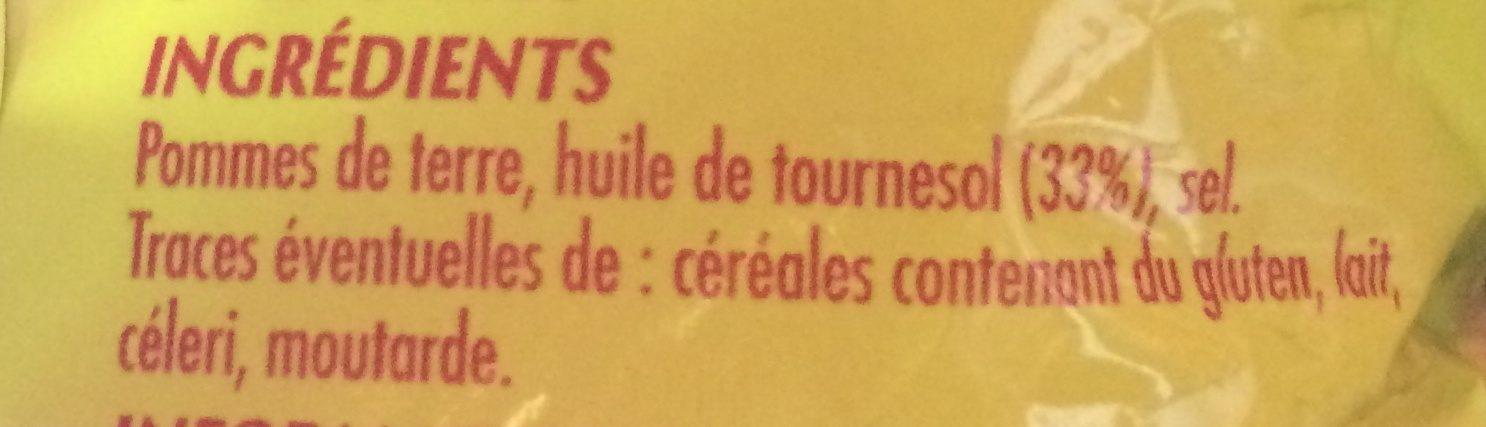 Chips craquantes - Ingrédients - fr