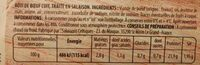 Mon Rôti de Bœuf - Ingredients - fr