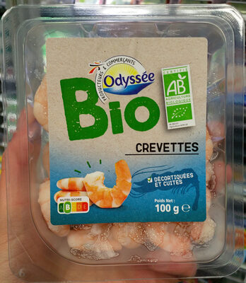 Crevettes décortiquées et cuites - Produit